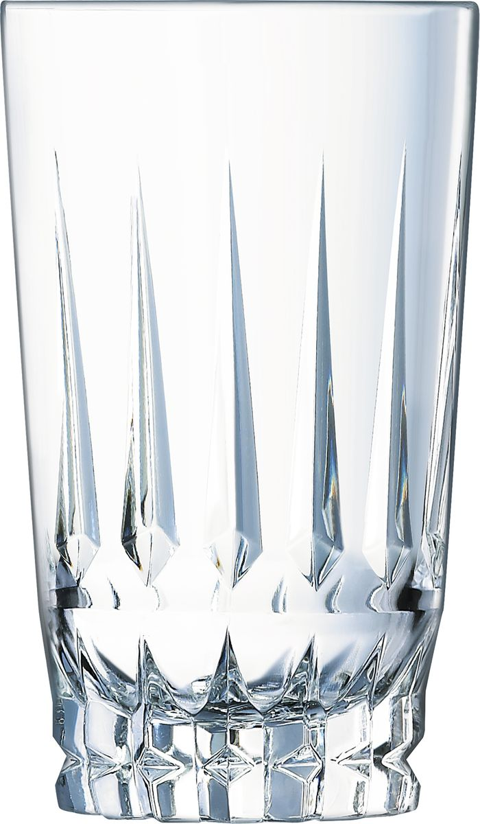 Ваза Cristal dArques Ornements. L8171L8171Вазы, настоящие скульптуры из света, рассыпаются мириадами искр. Моментальные снимки света - Мириады искр брызжут из этих ваз этой особой коллекции, по воле света, всегда разного и всегда повторяющегося. Заостренная внешняя огранка, вертикальная и горизонтальная у ваз и ромбовидная на других изделиях, переменчивые отблески на геометрических гранях стенок, причудливый внешний вид и впечатляющая плотность: эти скульптуры из хрустального света распространяют легкие и волшебные солнечные отблески.
