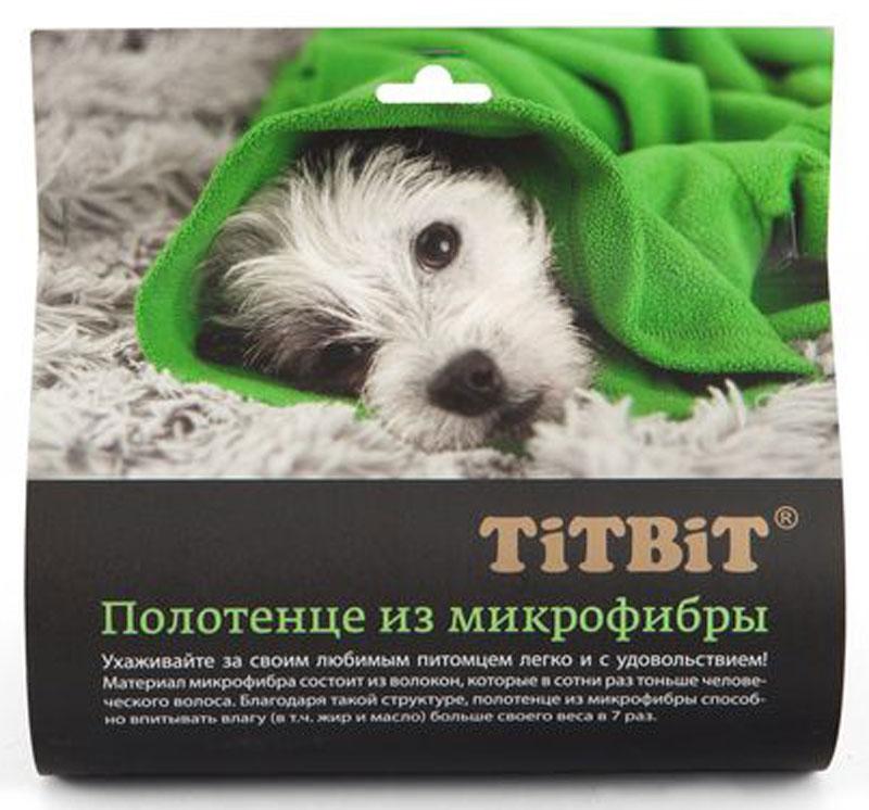 Полотенце для животных  Titbit , 50 х 70 см - Товары для ухода (груминг)