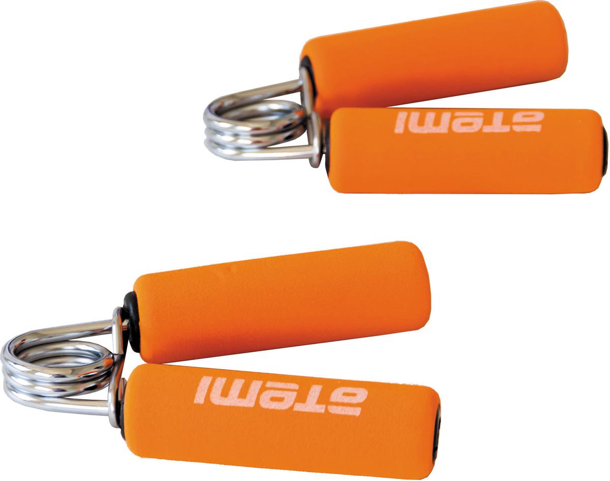 Эспандер кистевой Atemi, цвет: красный, 2 шт. AHG-02AHG-02Кистевой эспандер Atemi предназначен для укрепления и тренировки мышц пальцев, рук и запястий. Ручки выполнены из мягкого неопрена.В набор входят два эспандера.Размер эспандера: 12 см х 10,5 см.