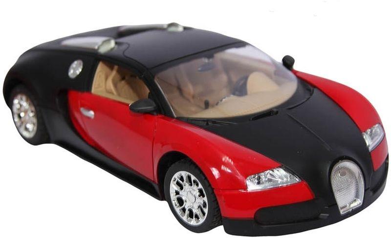 Гоночный автомобиль на радиоуправлении - мечта мальчишки любого возраста! Элементы игрушки до мелочей повторяют ее прототип. Оптика включается при помощи пульта, а откидывающийся верх легким движением руки превращает автомобиль-купе в кабриолет!