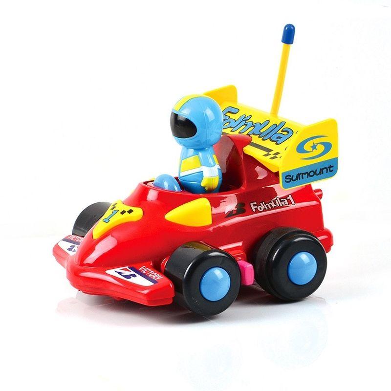 """Автомобиль на радиоуправлении """"Картинг"""" с фигуркой водителя - это очень интересная и занимательная игрушка. Он выполнен в ярком дизайне из прочных и безопасных материалов. Игра с ним подарит много радости благодаря веселой музыке, звуковым и световым эффектам."""