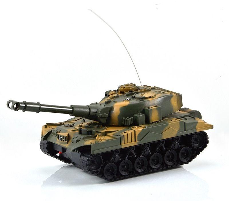 Mioshi Танк на радиоуправлении Army МТ-72 цвет коричнево-зеленый