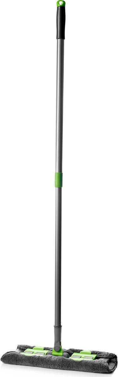 Швабра Walmer House, на клипсах, с телескопической ручкой и сменной насадкой, длина 120 см швабра для пола comfilux c насадкой из микрофибры длина 80 131 см
