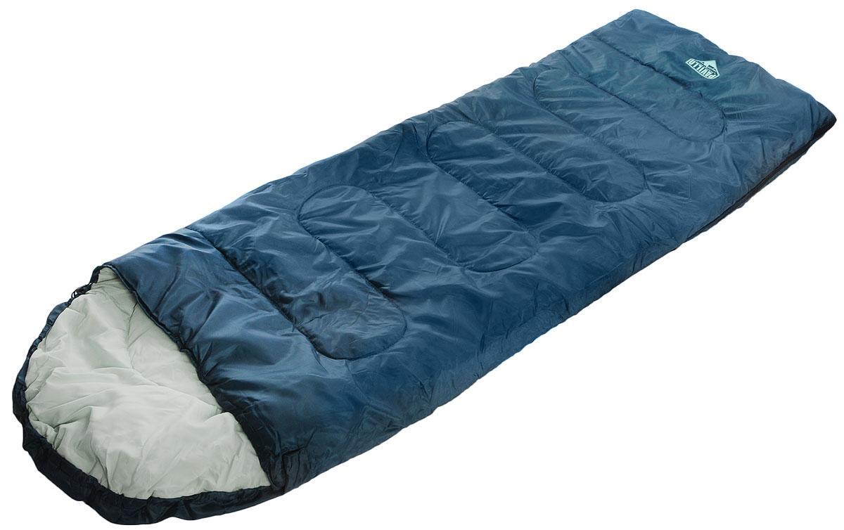 Bestway Спальный мешок Escapade 200, цвет: темно-зеленый68048Трехсезонный спальник-одеяло Bestway Escapade 200, выполненный из полиэстера и понжи с наполнителем из холлофайбера, предназначен для походов и для отдыха на природе не только в летнее время, но и в прохладные дни весенне-осеннего периода. В теплое время спальный мешок можно использовать как одеяло (в том числе и дома). Спальник-одеяло Bestway Escapade 200 станет незаменимым аксессуаром для любителей туризма, рыболовов и охотников.Одеяло упаковано в удобный мешок.