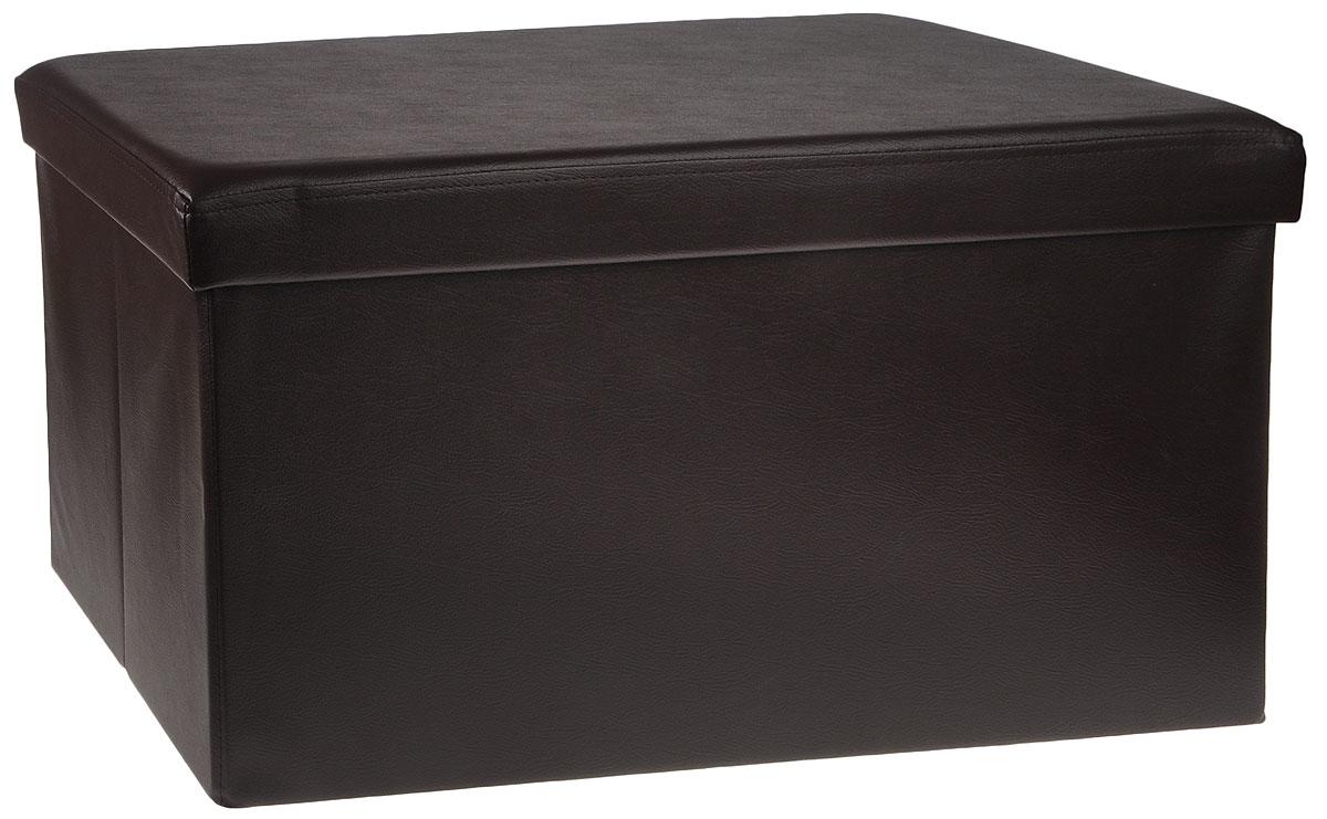 Пуф с отделением для хранения кожзам цвет коричневый, 76 x 38 x 38 см 4A-211-4FS-80423Пуф с отделением для хранения кожзам цвет коричневый, 76 x 38 x 38 см 4A-211-4