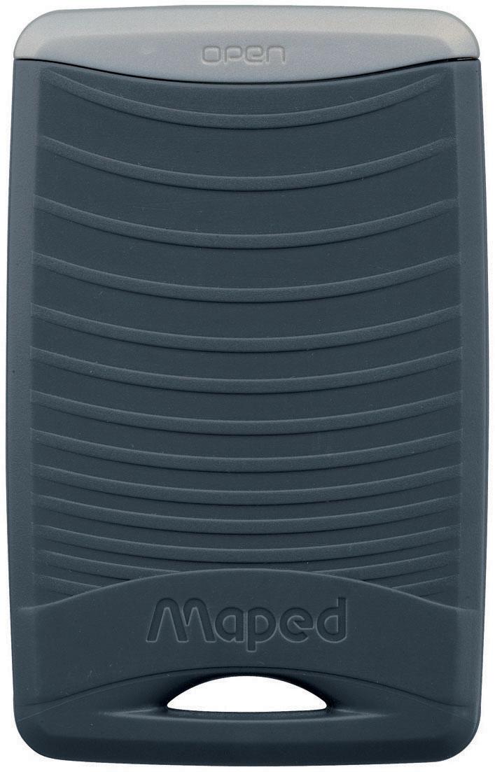 Maped Лупа офисная 3 кратная392510Лупа 3х - 1х увеличения, карманная, в защитном пластиковом футляре - брелоке, размер линзы 4,8 х 3,8 см.