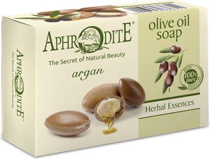 Aphrodite Мыло оливковое с арганой, 100 г078-01-799211Оливковое мыло производится с использованием только природных ингредиентов. Входящее в состав аргановое масло обладает защитным, увлажняющим, антисептическим и тонизирующим действием. При постоянном использовании оливкового мыла улучшается состояние проблемной кожи. 100% натуральный продукт. Не содержит консервантов, животных жиров и искусственных красителей.