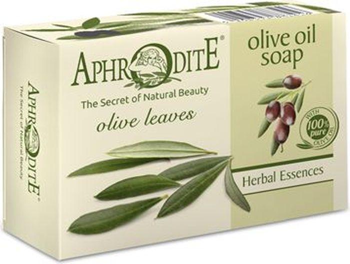 Aphrodite Мыло оливковое с листьями оливы, 100 г9474Тщательно измельченные оливковые листья, входящие в состав мыла, вручную собраны на плантациях масличных культур Aphrodite. По последним медицинским и научным исследованиям, в оливковых листьях содержится масса полезных микроэлементов с антиоксидантными и антибактериальными свойствами. Длительное применение оливкового мыла облегчает симптомы таких кожных заболеваний как экзема и псориаз. Подходит для людей с проблемной кожей, подверженной аллергическим реакциям. 100% натуральный продукт. Не содержит консервантов, животных жиров и искусственных красителей.