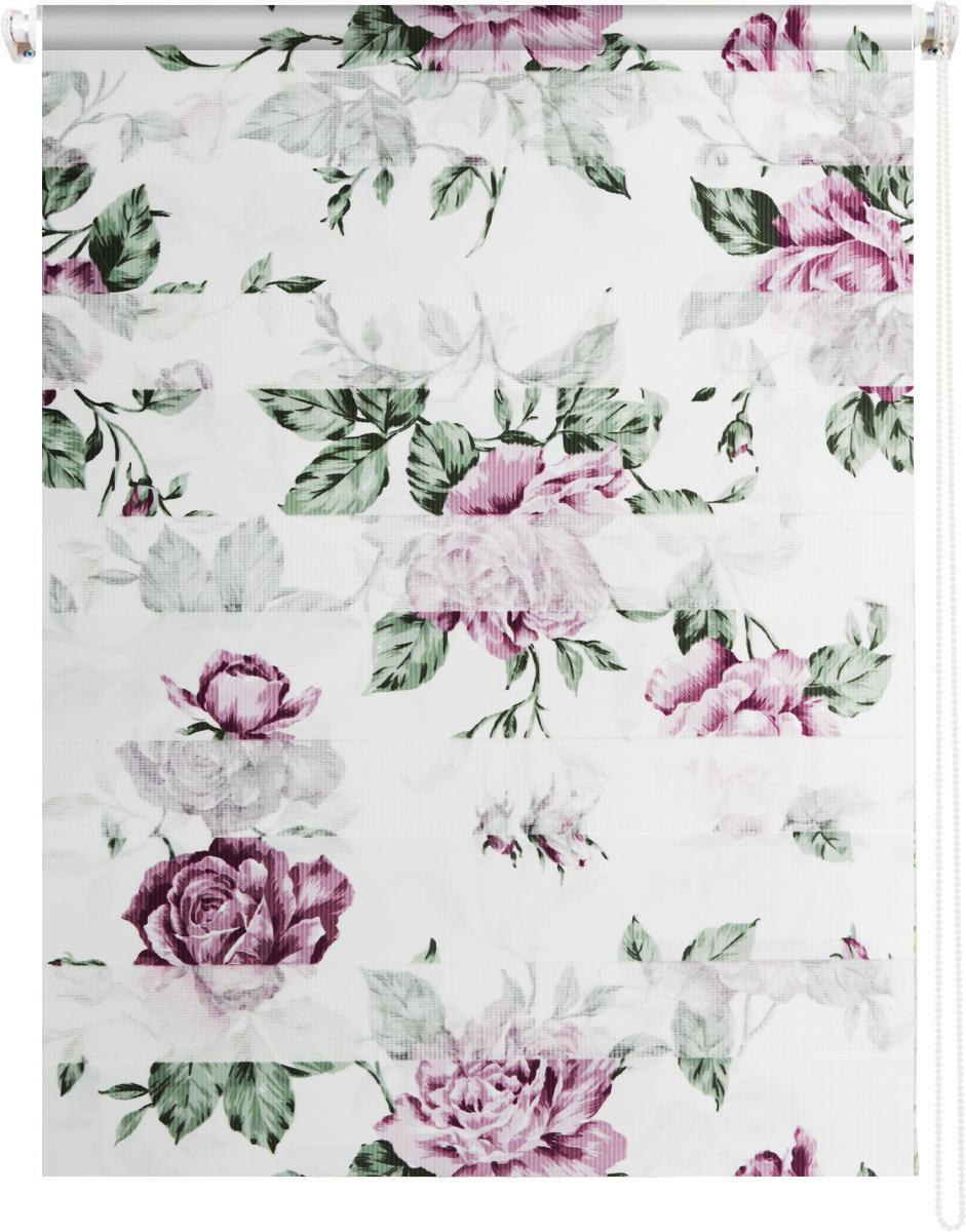 Мини ролло Garden День-ночь 4, крепление универсальное, цвет: белый, фиолетовый, 60 х 160 см112825Мини ролло Garden День-ночь 4 изготовлены из высокопрочной плотной ткани и украшены изображением мелких красных цветов. Ткань не выцветает, обладает отличной цветоустойчивостью и сохраняет свой размер даже при намокании. Мини-ролло - это подвид рулонных штор, который закрывает не весь оконный проем, а непосредственно само стекло. Крепление универсальное, шторы крепятся либо скобами на раму, либо на крепление с двусторонним скотчем. Мини ролло Garden День-ночь - это отличное решение для тех, кто не хочет утяжелять помещение тканевыми шторами. Они не только открывают пространство, но и легко регулируют подачу света в помещении, сдвигая полоски относительно друг друга. Происходит это с помощью шнура-цепочки. В комплект входит: - 2 крепления,- 2 самореза,- 2 дюбеля,- шнур-цепочка,- мини-ролло.
