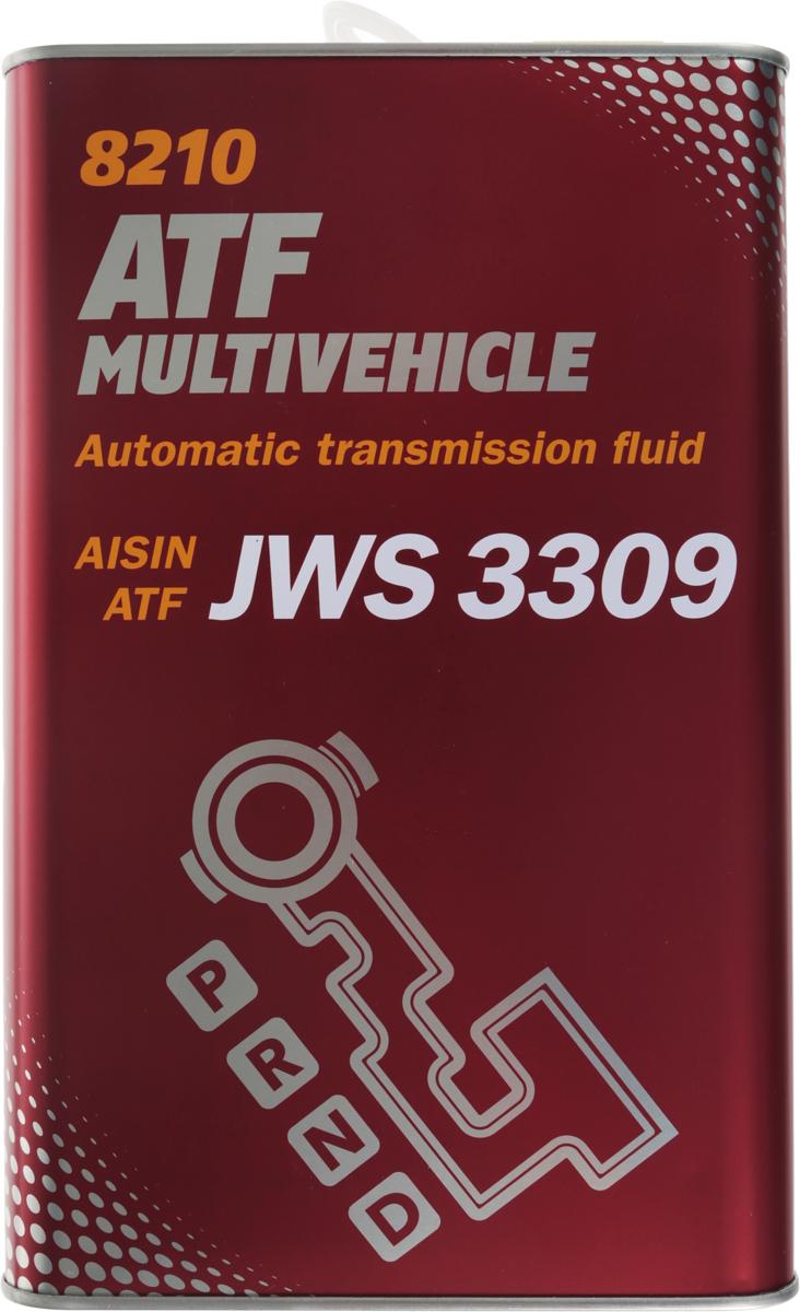 Трансмиссионное масло MANNOL ATF Multivehicle, синтетическое, 4 л3046Трансмиссионное масло MANNOL ATF Multivehicle - специальная жидкость на основе смеси высококачественных базовых масел и новейшего пакета присадок для автоматических трансмиссий современных автомобилей. Уникальный состав модификаторов трения позволяет поддерживать необходимый уровень фрикционных свойств в течение длительного срока и обеспечивать плавное и мягкое переключение передач. Стойкость к воздействию высоких температур и отличные низкотемпературные характеристики жидкости позволяют надежно работать трансмиссии при любых климатических условиях. Жидкость предназначена для различных АКПП легковых и коммерческих автомобилей японского и корейского производства. Может использоваться АКПП: Toyota, Nissan, Mitsubishi, Mazda, Honda (кроме CVT), Suzuki, Subaru, Hyundai. Продукт имеет допуски / соответствует спецификациям / продуктам:AISIN WARNER JWS 3309JASO M315 Type 1AJATCO ATFJATCO 3100 PLO85TOYOTA ATF Type T/T-II/T-III/T-IVNISSAN/INFINITI MATIC D/J/KNISSAN/TEXACO N402 (JATCO FWD)MITSUBISHI Diamond SP-II/SP-IIIMAZDA ATF-M III / ATF-MVDAIHATSU Alumix ATF MultiHONDA ATF Z-1 (not for CVT) / ATF DW-1SUZUKI 3314, 3317, 2384KSUZUKI ATF Oil / ATF Oil SpecialSUBARU ATF, ATF-HPHYUNDAI / KIA SP-II, SP-IIIIDEMITSU K17-Jaguar X Type 2001-2005MOPAR AS68RCGM DEXRON II/IID/IIE/IIIF/IIIG/IIIHCHRYSLER ATF +3/+4VW/AUDI G-052-025-A2 / G-052-162-A1 / G-052-990 A1/A2 / G-055-025 A1/A2BMW 7045E (3 Series) / ETL-8072B (5 Series) / LA2634, LT71141 (ZF 5 Speed)MERCEDES-Benz 236.1/2/3/5/6/7/9/10/11PORSCHE JWS 3309VOLVO 97340/97341VOITH 55.6335.XX (G607)ALLISON C-4ZF TE-ML 03D/04D/11B/14A/14B/16L/17FORD MERCON V, FNR5MAN 339F/V1/V2/Z1/Z2