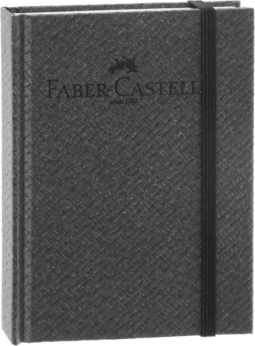 Faber-Castell Блокнот Бамбук 100 листов в линейку цвет темно-серый385252Блокнот Faber-Castell Бамбук - незаменимый атрибут современного человека, необходимый для рабочих и повседневных записей в офисе и дома.Обложка блокнота выполнена из картона и оформлена надписью бренда. Внутренний блок состоит из 100 листов бумаги. Стандартная линовка в серую линейку без полей. Листы блокнота надежно сшиты. Блокнот фиксируется при помощи резинки, имеет ляссе.