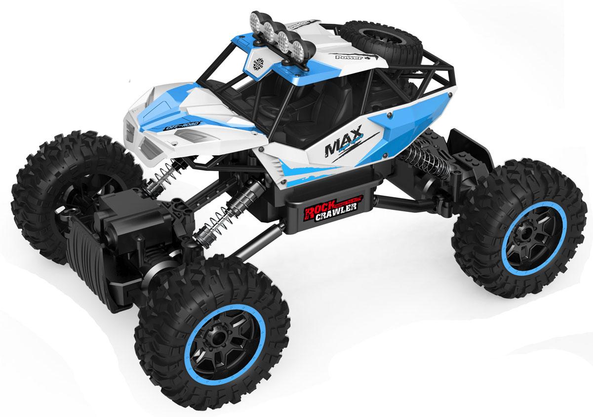 Bluesea Машинка на радиоуправлении Rock Crawler цвет белый голубой bluesea машинка на радиоуправлении racing car цвет синий