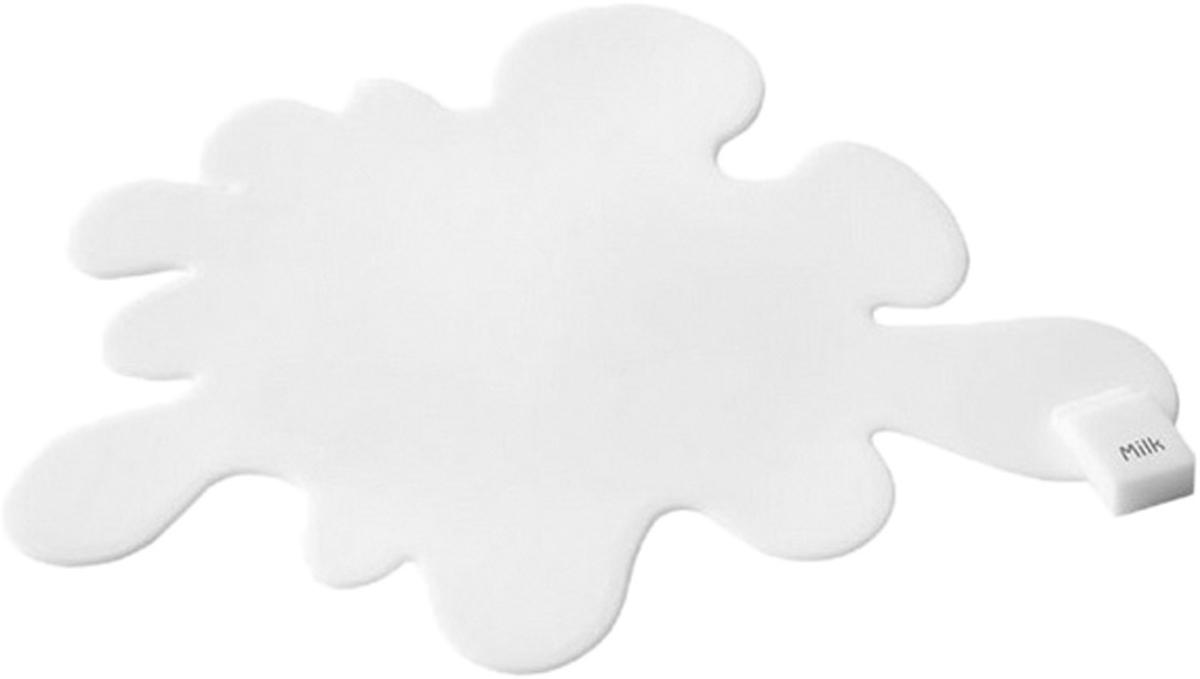Подставка под горячее Balvi Spilled Milk, цвет: белый115510Каждая хозяйка прекрасно знает, что подставки под горячее являются незаменимы элементом на кухне во время готовки. Оригинальная подставка под горячее Spilled Mild не только защитит поверхность столов, но и станет прекрасным украшением кухни. Подставка изготовлена из силикона и выглядит как пролитая лужица молока. За счет дизайна выглядит изделие действительно необычно и ярко. Плюс ко всему, подставка не займет много места на кухне и отлично отмывается под струей теплой воды. Благодаря термоустойчивому силикону подставка не расплавится и защитит любую поверхность от горячей посуды.-Уникальный дизайн в виде лужицы пролитого молока-Подставка изготовлена из огнеупорного силикона-Не занимает много места на кухне и легко отмывается под струей теплой воды