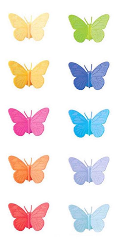 Маркеры для бокалов Balvi Drink Wings, 10 шт24604Маркеры для бокалов Drink Wings могут стать настоящим спасением на шумной вечеринке. Благодаря этим удивительным и ярким силиконовым маркерам в виде бабочек вы никогда не перепутаете свой напиток с чужим. Маркеры крепятся на поверхность бокала или стакана с помощью маленькой присоски. Разноцветные бабочки на вашем бокале не только не дадут вам запутаться, но и сделают вечеринку более яркой и позитивной. В комплекте 10 маркеров разных цветов.- Стильный и позитивный дизайн в виде маленьких бабочек на присосках.- Изготовлено из качественного силикона.- Легко крепятся на поверхность бокала.