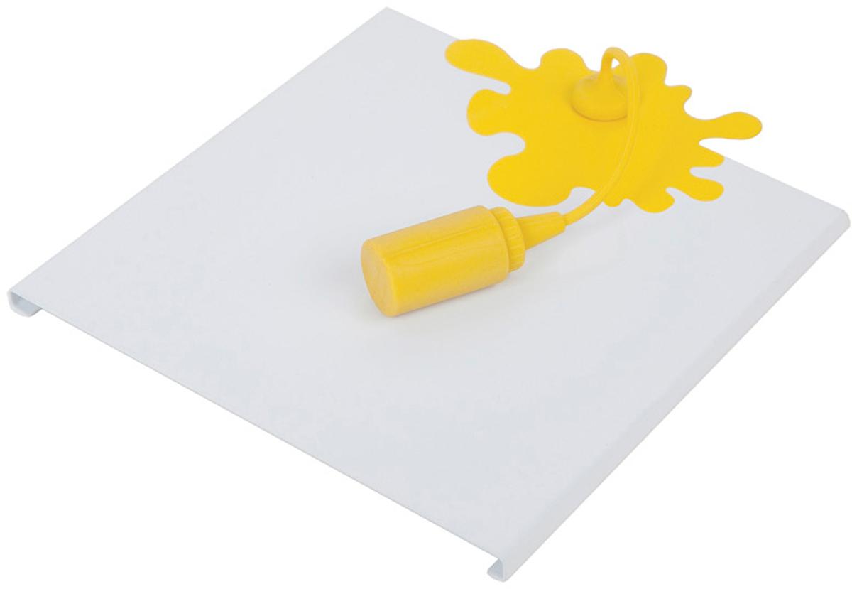 Держатель для салфеток Balvi Mustard Spill, цвет: белый24683Нестандартный держатель для салфеток Mustard Spill подойдет каждому, кто любит оригинально декорировать помещение, а также наводить в доме порядок и чистоту, наверняка. Этот незаменимый в каждом доме аксессуар прекрасно справляется со своей задачей благодаря крепкой металлической основе. Аксессуар изготовлен из металла, а баночка - из силикона. Дизайн держателя в форме пятна разлитой горчицы позабавит гостей и оживит интерьер кухни. Благодаря держателю салфетки всегда будут под рукой в нужный момент и при этом будут аккуратно сложены. Лучшего подарка для чистоплотной хозяюшки не стоит даже искать.- Уникальный дизайн в форме кляксы от горчицы.br>- Впишется в интерьер любой кухни.