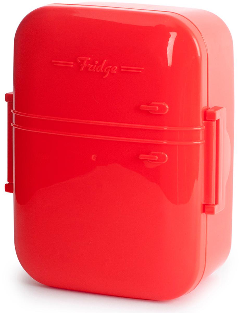 Ланч-бокс Balvi Fridge, цвет: красный21395560Если вы хотите, чтобы ваши ланчи оставались вкусными и не теряли своих полезных качеств, то ланч-бокс Fridge - это именно то, что вам нужно. Бокс герметичен и изготовлен из высококачественного пищевого пластика без содержания меланина. Это позволит вам не переживать о качестве продуктов и наслаждаться первозданным вкусом еды. Дизайн бокса очень ярок и необычен. Он выполнен в виде холодильника красного цвета, крышка которого является своеобразной дверцей к холодильной камере. Бокс можно использовать в микроволновке и мыть в посудомоечной машине.-Креативный дизайн бокса в виде холодильника-Изготовлен из высококачественного пищевого пластика без содержания меланина-Вместительный и сохранит первоначальные вкусовые качества продуктов на весь день-Можно использовать в микроволновке