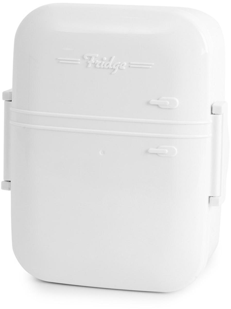 Ланч-бокс Balvi Fridge, цвет: белыйFD 992Этот простой и функциональный контейнер для хранения обедов прекрасно справляется со своей задачей, а также радует глаз приятным дизайном. Ланч-бокс Fridge в виде холодильника изготовлен из качественного пищевого пластика, что позволяет сохранить истинный вкус продуктов на целый день. Не переживайте за свежесть ланча, даже если вы замотались на работе и забыли перекусить в обед, вы всегда сможете насладиться свежестью ланча даже к концу рабочего дня. Но самое главное - материал бокса не содержит меланина, поэтому абсолютно безвреден для здоровья человека. Бокс легко мыть как руками, так и в посудомоечной машине.-Креативный дизайн бокса в виде холодильника-Изготовлен из высококачественного пищевого пластика без содержания меланина-Вместительный и сохранит первоначальные вкусовые качества продуктов на весь день-Можно использовать в микроволновке