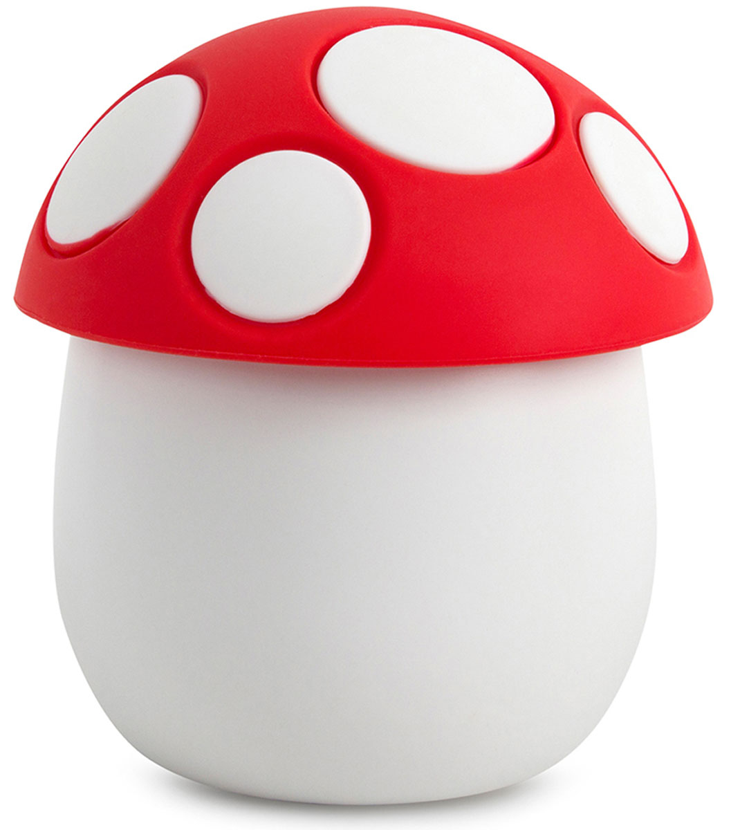 Солонка Balvi Fungo, цвет: белый25761Солонка Fungo выглядит как гриб-мухомор, и изготовлена из качественной керамики и силикона. Ножка солонки (основание) сделана из керамики, а красная шляпка гриба служит крышкой и изготовлена из силикона. Солонка станет отличным подарком для любой хозяйки, которая ценит практичность и оригинальность. Стоит отметить, что солонка рассчитана для мелкой соли.- Уникальный дизайн солонки в виде гриба-мухомора.- Солонка изготовлена из керамики и силикона.- Станет отличным подарком для любой хозяйки.
