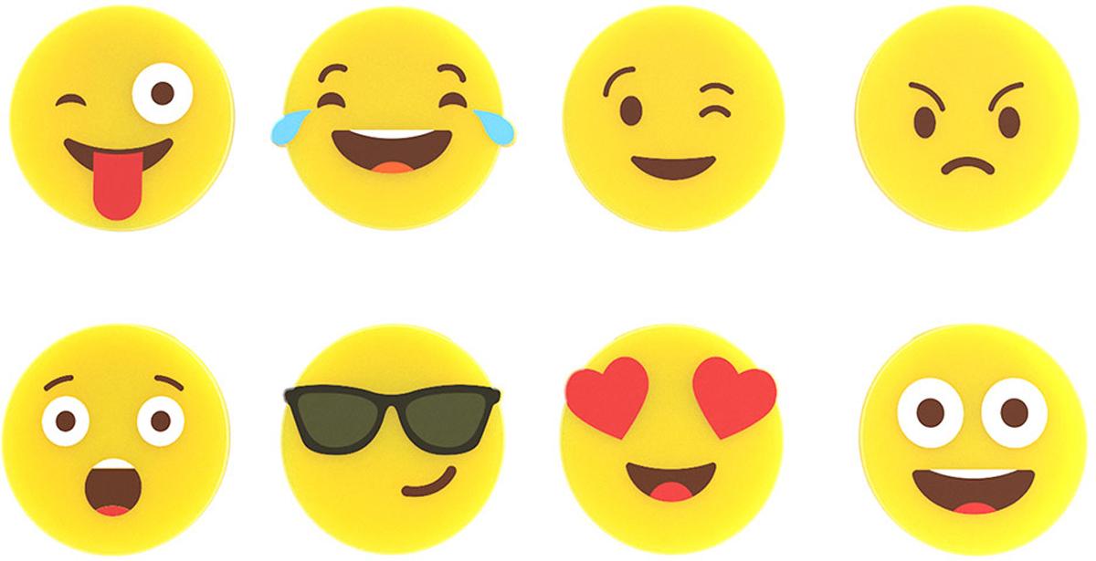 Маркеры для бокалов Balvi Emoji, цвет: желтый, 8 шт26644Маркеры для бокалов Emoji помогут придумать свое яркое оформление вечеринки, создадут позитивное настроение для всех ее членов и позволят легко идентифицировать каждому свой бокал среди бесчисленного множества посуды. Популярные смайлики или эмодзи - это модный тренд, использующийся при общении в интернете. При желании можно подобрать индивидуальный маркер для каждого члена семьи или участника вечеринки. - Прочный и эластичный силикон, устойчивый к повреждениям и высоким температурам.- Простое и удобное крепление.- Коллекция из 8 разнообразных маркеров на любой вкус.