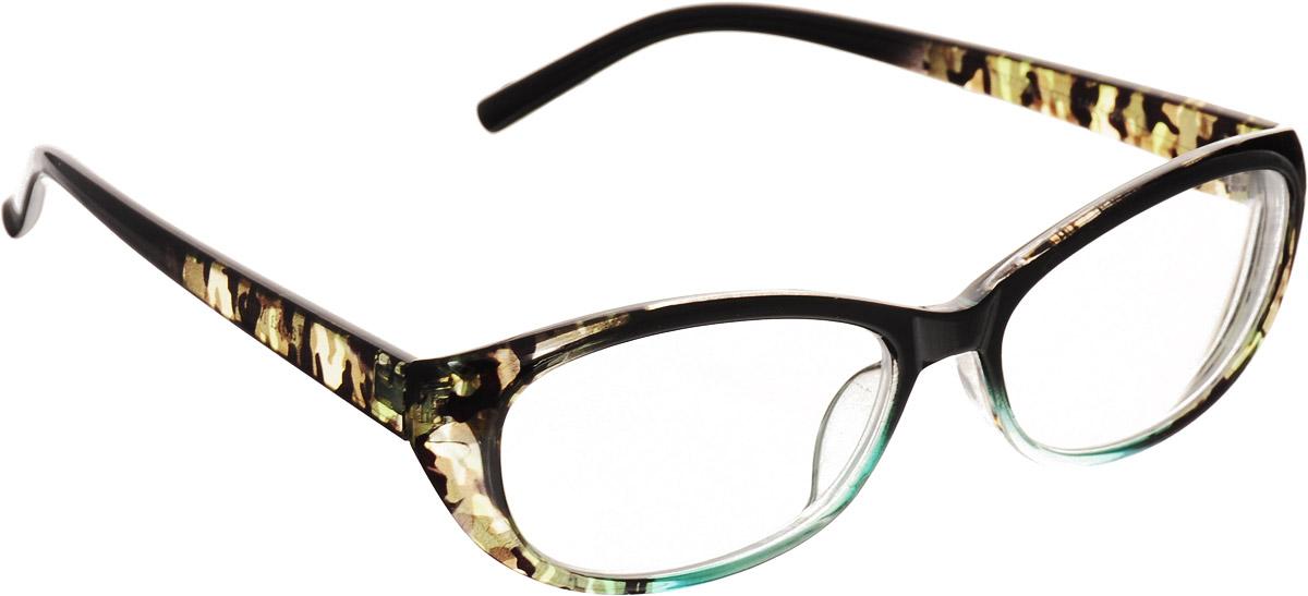 OZON.ruперфорационные unisexProffi Home Очки корригирующие 729 Fabia Monti -2.50, цвет: зеленый