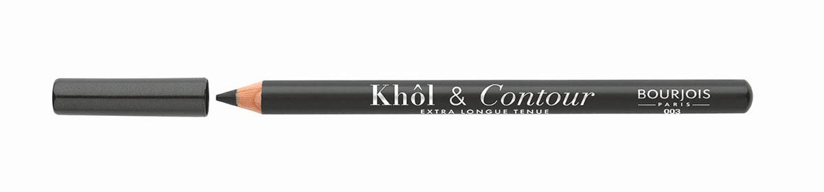 Bourjois Карандаш для глаз контурный Khol & Contour, Тон №00329105333003Мягкая текстура, насыщенные пигментированные оттенки. Стойкость до 16 часов. Подходит для чувствительных глаз благодаря витамину Е и экстракту зеленого чая.