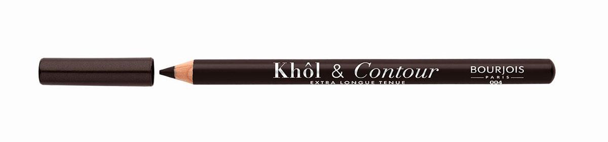 Bourjois Карандаш для глаз контурный Khol & Contour, Тон №004PMB 0805Мягкая текстура, насыщенные пигментированные оттенки. Стойкость до 16 часов. Подходит для чувствительных глаз благодаря витамину Е и экстракту зеленого чая.