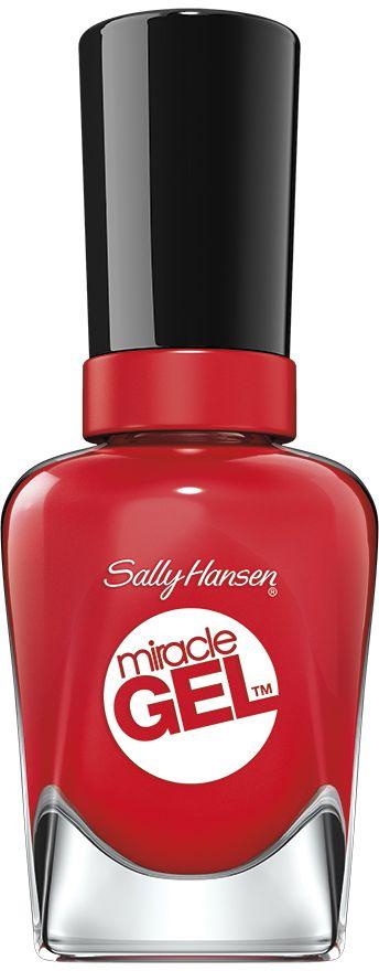 Sally Hansen Гель-Лак для ногтей Miracle Gel, Тон №434, 14 мл30666218434Гелевый маникюр без лампы. До 14 дней яркого цвета и блеска. Больше устойчивости к сколам, чем у обычного лака для ногтей. Легко удаляется с помощью обычного средства для снятия лака.
