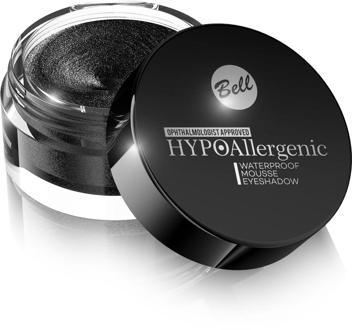 Bell Hypoallergenic Кремовые тени для век Waterproof Mousse Eyeshadow, Тон №05, 23 млBcmHA005