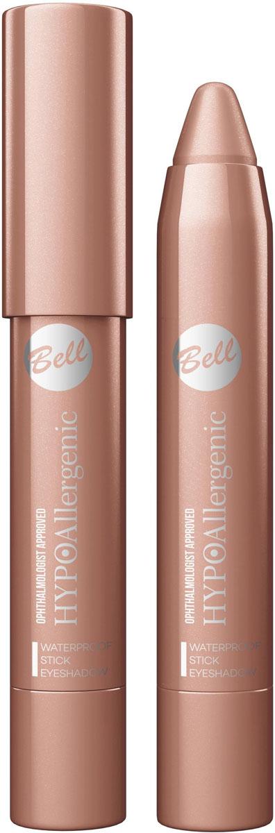 Bell Hypoallergenic Тени для век в карандаше Waterproof Stick Eyeshadow, Тон №04BcsHA004