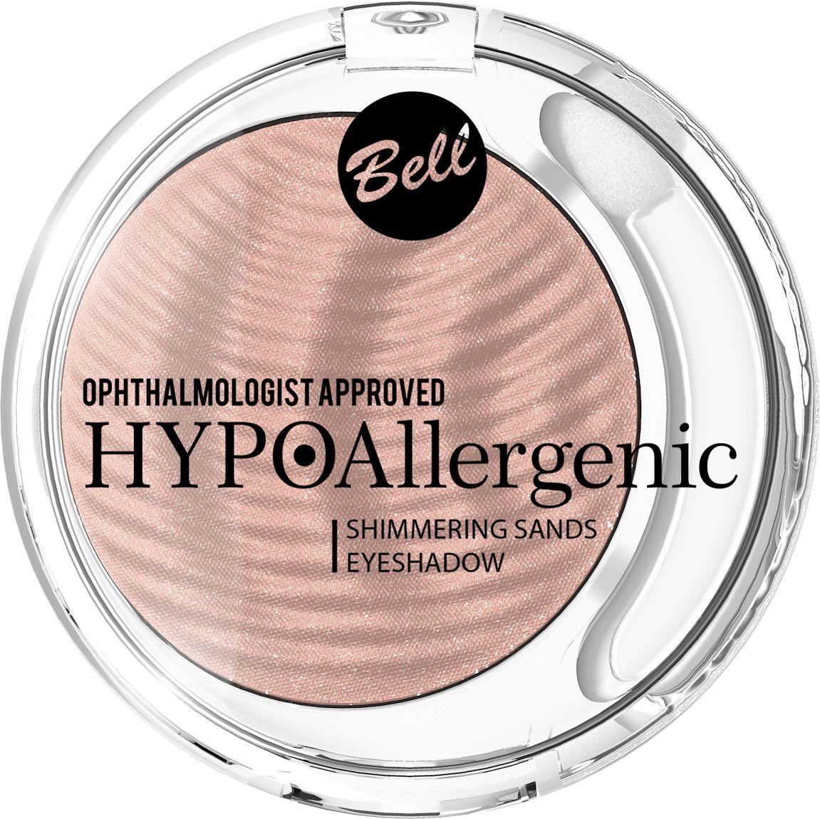 Bell Hypoallergenic Кремовые тени для век Shimmering Sands Eyeshadow, Тон №02BcssHA002