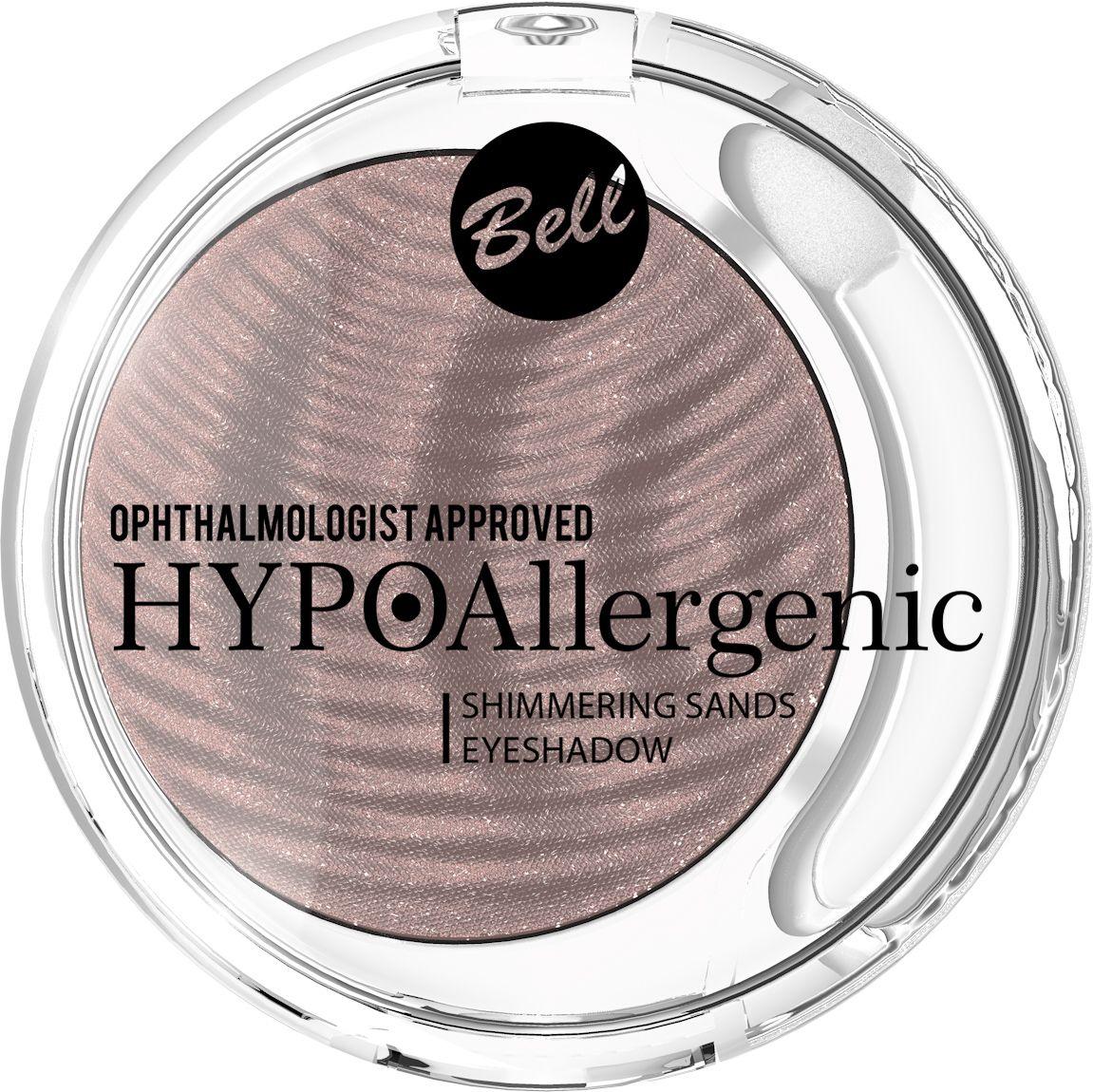 Bell Hypoallergenic Кремовые тени для век Shimmering Sands Eyeshadow, Тон №03BcssHA003
