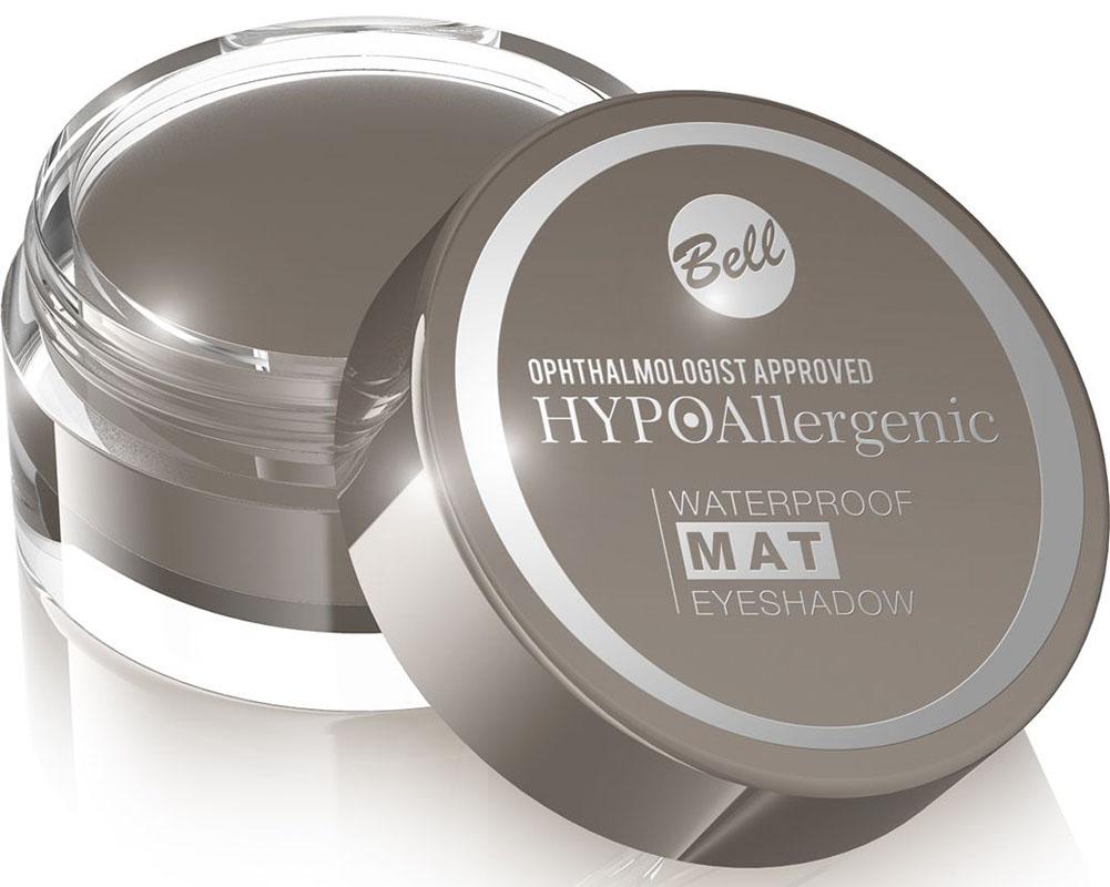 Bell Hypoallergenic Тени для век, водостойкие, матовые Waterproof Mat Eyeshadow, Тон №02BcwmHA002