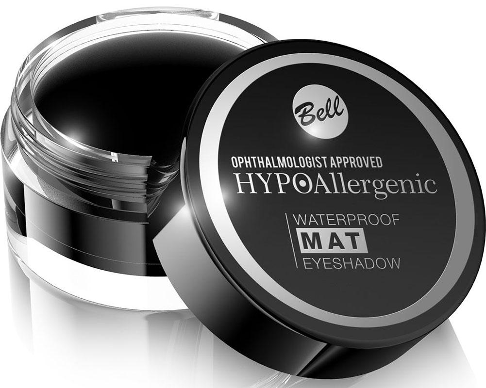 Bell Hypoallergenic Тени для век, водостойкие, матовые Waterproof Mat Eyeshadow, Тон №04BcwmHA004