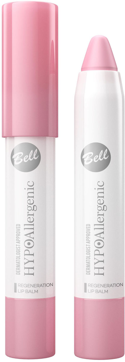 Bell Hypoallergenic Бальзам для губ регенерирующий Regeneration Lip Balm, 4 млBplbHA001