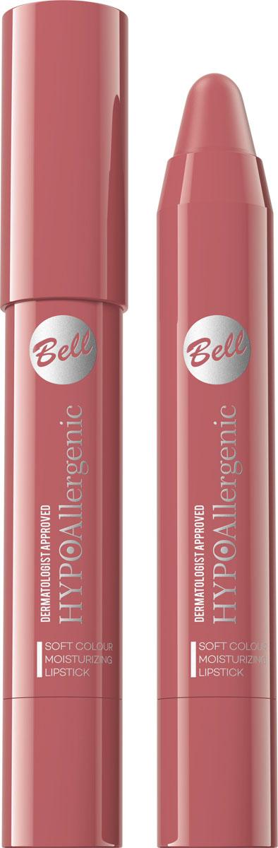 Bell Hypoallergenic Помада-карандаш для губ Soft Colour Moisturizing Lipstick, Тон №05BposHA005