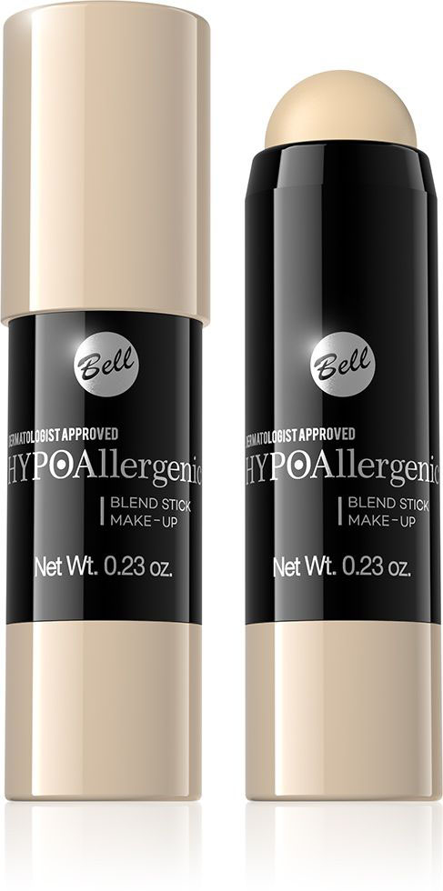 Bell Hypoallergenic Флюид-карандаш, интенсивно скрывающий недостатки Blend Stick Make-Up, Тон №05BsbHA005