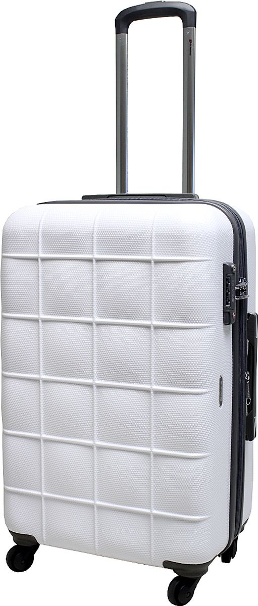 Чемодан на колесах  Echоlac , цвет: белый, 77 л. 005-24PC - Чемоданы и аксессуары