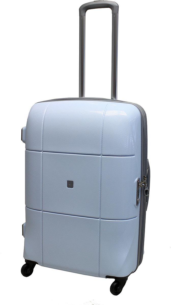 Чемодан на колесах Echоlac, цвет: голубой, 75 л. 080-24PCS332515-2800Чемодан Echolac, коллекция АТЛАС.- Компактный и легкий. Служит незаменимым спутником для деловых поездок и кратковременных путешествий. - Произведен из поликарбоната, что является гарантом прочности, надёжности и долговечности. - 4 колеса японского производителя HINOMOTO, вращающиеся на 360°, придают маневренности и распределяют нагрузку равномерно. А также избавят вашу руку от излишней нагрузки.- Функциональный: имеет вместительное отделение с прижимными ремнями и перегородкой с дополнительными карманами.- Надежный: уникальный двойной зип (молния) и встроенный кодовый замок с функцией TSA защитят ваши вещи от кражи.Материал: поликарбонатВес: 3,6кг.Объем 75л.Пр-во: Китай