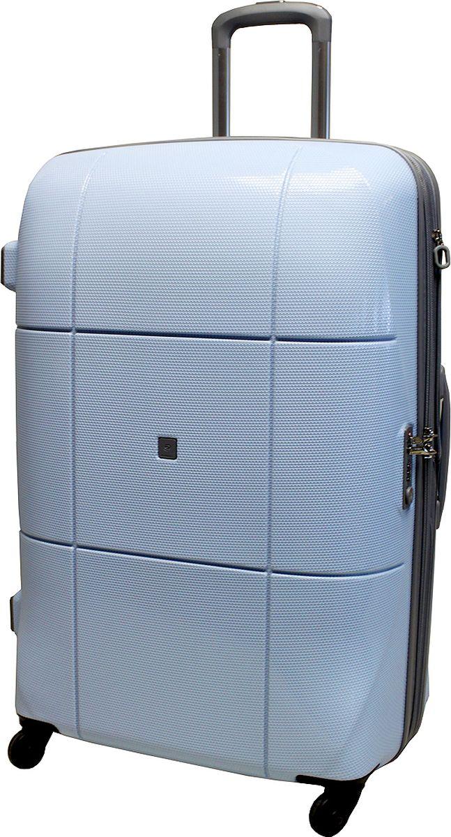 Чемодан на колесах Echоlac, цвет: голубой, 105 л. 080-28PCSГризлиЧемодан Echolac, коллекция АТЛАС.- Компактный и легкий. Служит незаменимым спутником для деловых поездок и кратковременных путешествий. - Произведен из поликарбоната, что является гарантом прочности, надёжности и долговечности. - 4 колеса японского производителя HINOMOTO, вращающиеся на 360°, придают маневренности и распределяют нагрузку равномерно. А также избавят вашу руку от излишней нагрузки.- Функциональный: имеет вместительное отделение с прижимными ремнями и перегородкой с дополнительными карманами.- Надежный: уникальный двойной зип (молния) и встроенный кодовый замок с функцией TSA защитят ваши вещи от кражи.Материал: поликарбонатВес: 4,3кг.Объем 105л.Пр-во: Китай