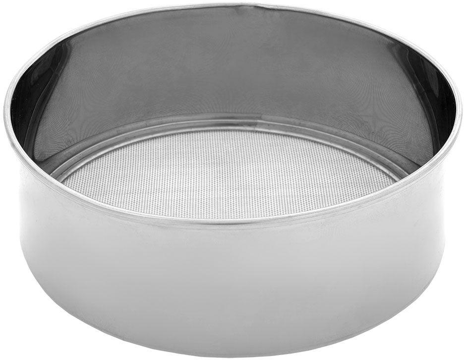 Сито для муки Marmiton, 15 х 5 см, металл115510Изготовлено из нержавеющей стали и имеет оптимальный размер (15х5 см). Легко и удобно просеять муку в любую емкость.