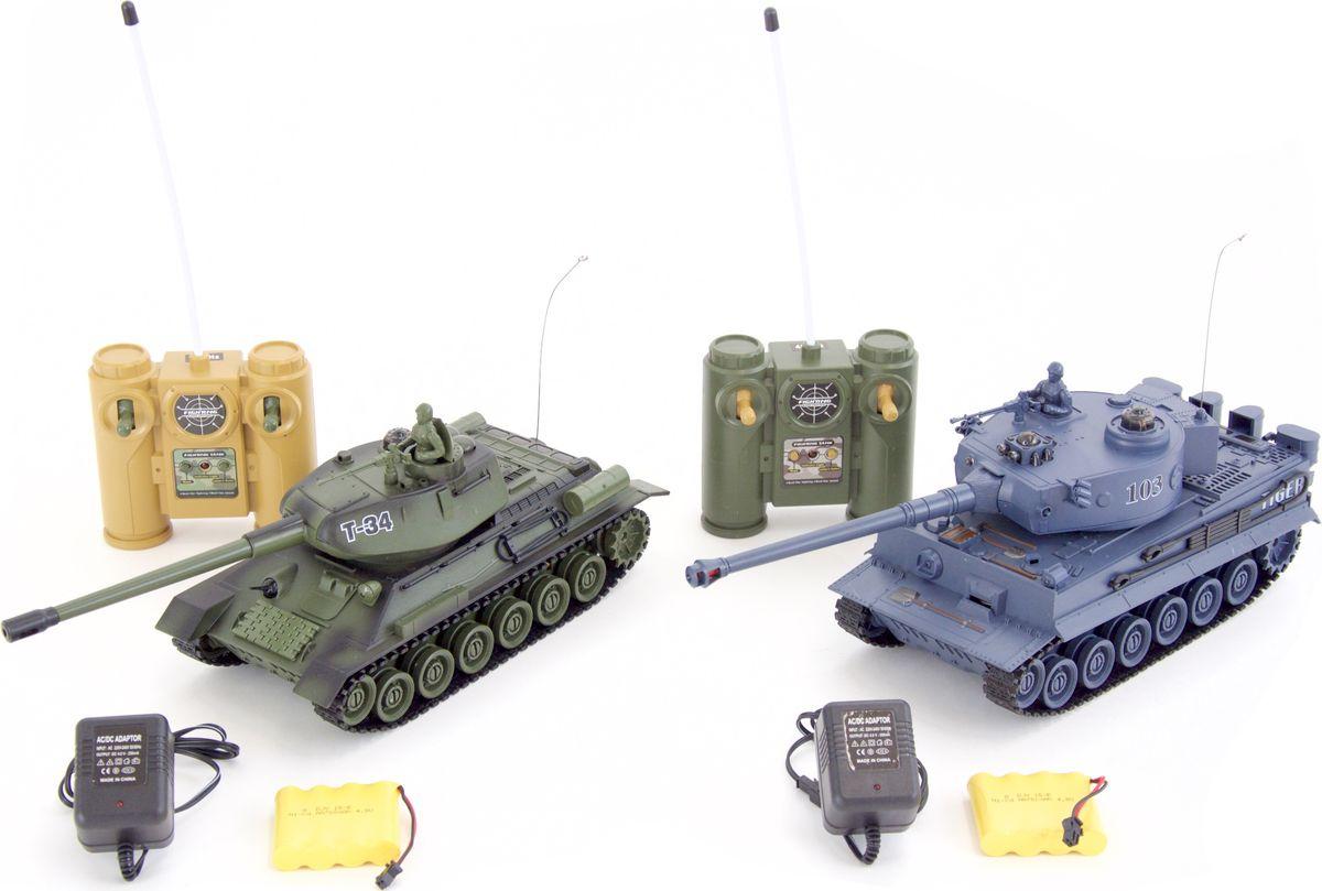 Pilotage Набор танков на радиоуправлении Танковый бой T34 vs Tiger