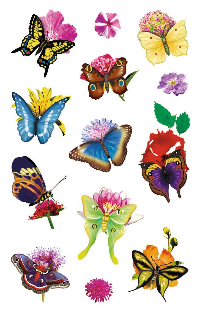 Avery Zweckform Набор наклеек Бабочки 39 шт