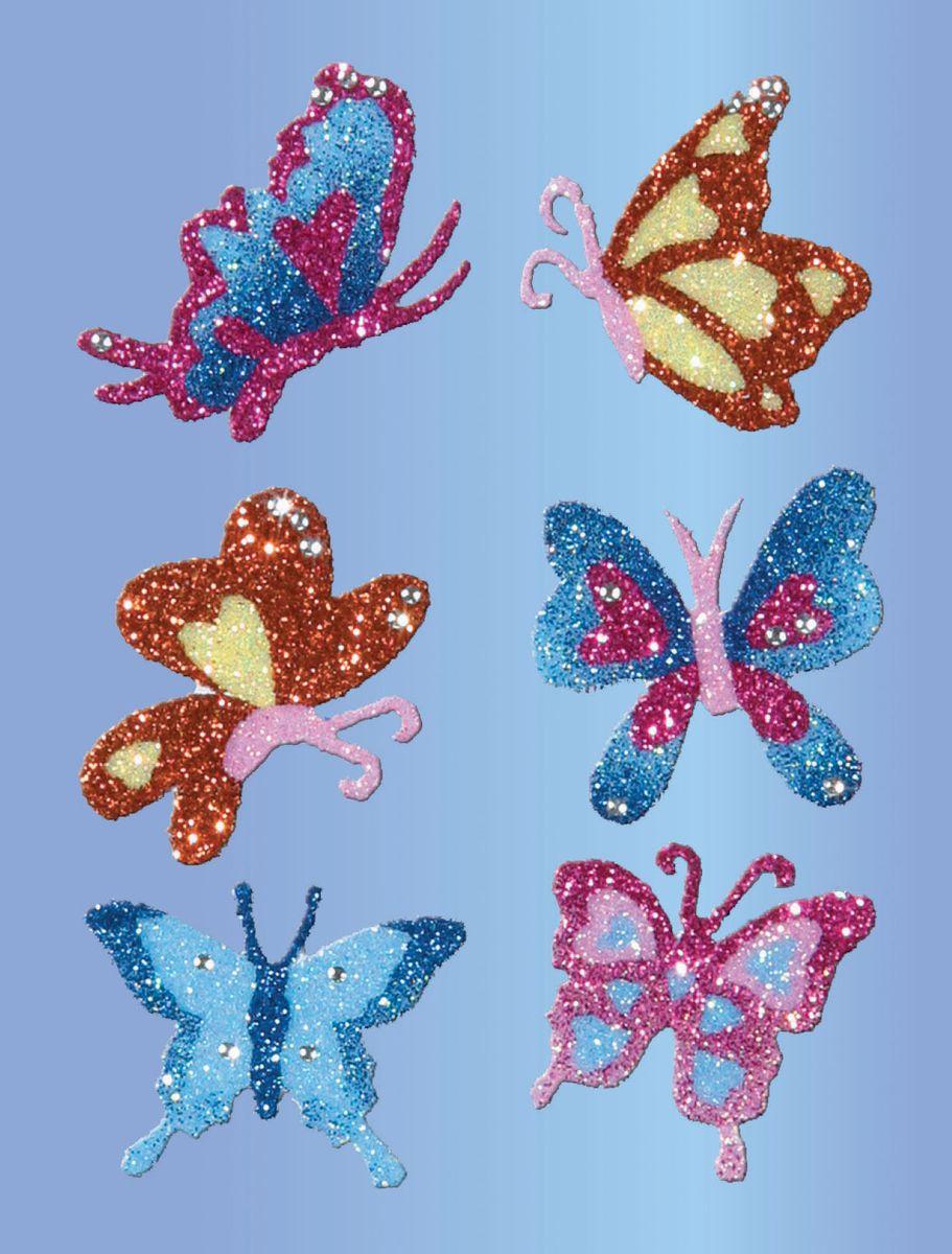 Avery Zweckfrom Набор наклеек Премиум Бабочки 6 шт -  Бумага для заметок, стикеры, закладки