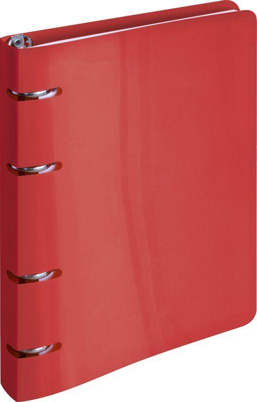 ArtSpace Тетрадь на кольцах 80 листов в клетку цвет красный ТК80п_10202ТК80п_10202Тетрадь на кольцах с пластиковой обложкой яркого и насыщенного красного цвета станет стильным аксессуаром как в институте, так и в офисе. Стильная вырубка под кольца тетради делает изделие еще более интересным.