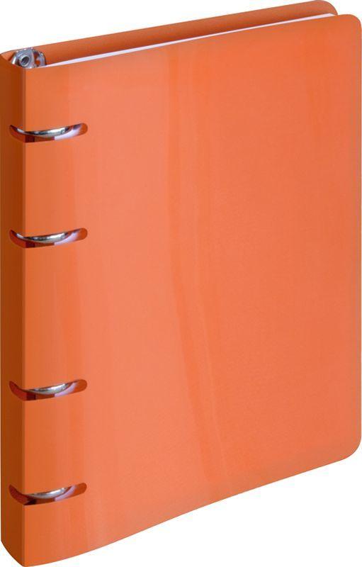 ArtSpace Тетрадь на кольцах 80 листов в клетку цвет оранжевыйТК80п_10202Тетрадь на кольцах с пластиковой обложкой яркого и насыщенного оранжевого цвета станет стильным аксессуаром как в институте, так и в офисе. Стильная вырубка под кольца тетради делает изделие еще более интересным.