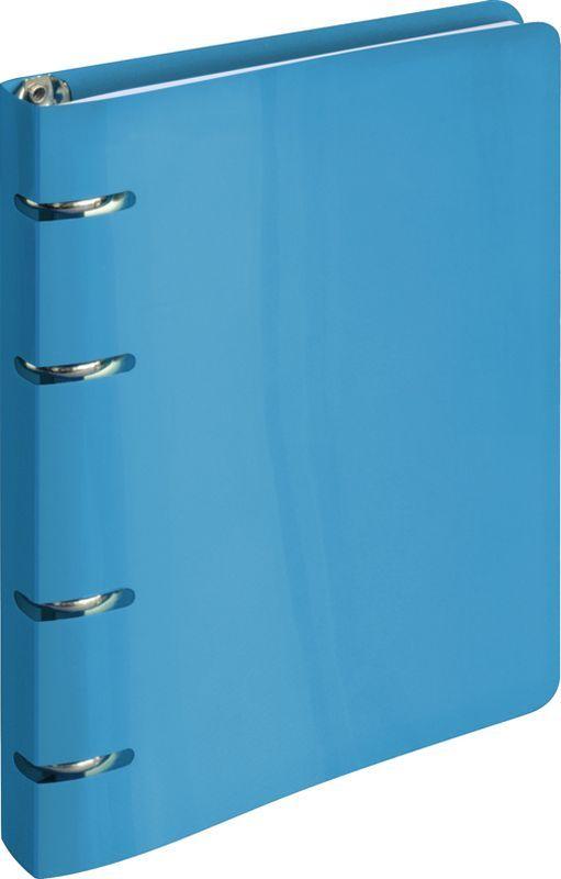 ArtSpace Тетрадь на кольцах 80 листов в клетку цвет голубойТК80п_10205Тетрадь на кольцах с пластиковой обложкой яркого и насыщенного голубого цвета станет стильным аксессуаром как в институте, так и в офисе. Стильная вырубка под кольца тетради делает изделие еще более интересным.