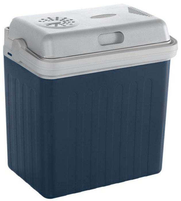 MOBICOOL U22 DC, Dark Blue автохолодильникU22 DC_синийАвтохолодильник MOBICOOL U22 DC предназначен для транспортировки и хранения напитков и продуктов питания при определенном температурном режиме. Особенно удобно его использовать в длительных поездках в жаркое время года.Контейнер - термоэлектрический. Он работает от прикуривателя 12 В. Минимальная температура охлаждения составляет до 15 градусов ниже температуры окружающей среды. Корпус холодильника выполнен из ударопрочного пластика. В качестве теплоизоляционного материала используется пенополиуретан.Мощность: 48 ВтСъемная крышкаВстроенный в крышку кабельРучка фиксирует крышку в закрытом положенииПолная термоизоляция из пенополиуретана