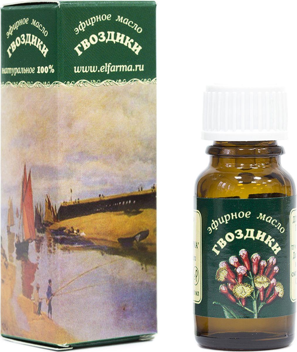 Elfarma Эфирное масло Гвоздики, 10 мл2000000012728Исстари широко использовалось для предупреждения инфекционных заболеваний, вплоть до чумы и холеры. Эффективный репеллент.