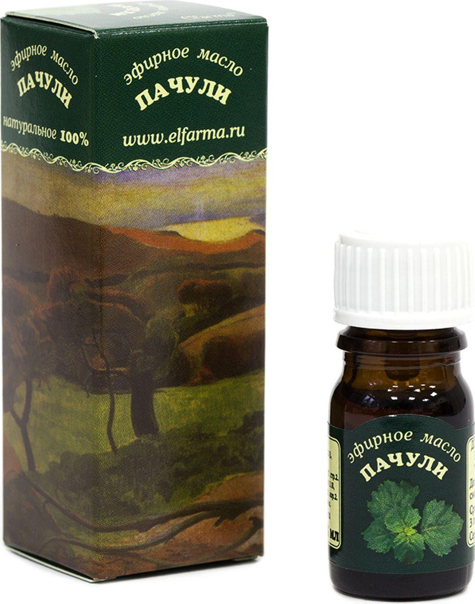 Elfarma Эфирное масло Пачули, 10 млМС3501Выдающиеся косметологические свойства. Бактерицидное и фунгицидное действие, высокоактивный антиоксидант, ускоряет регенерацию тканей. Эффективно при укусах насекомых.