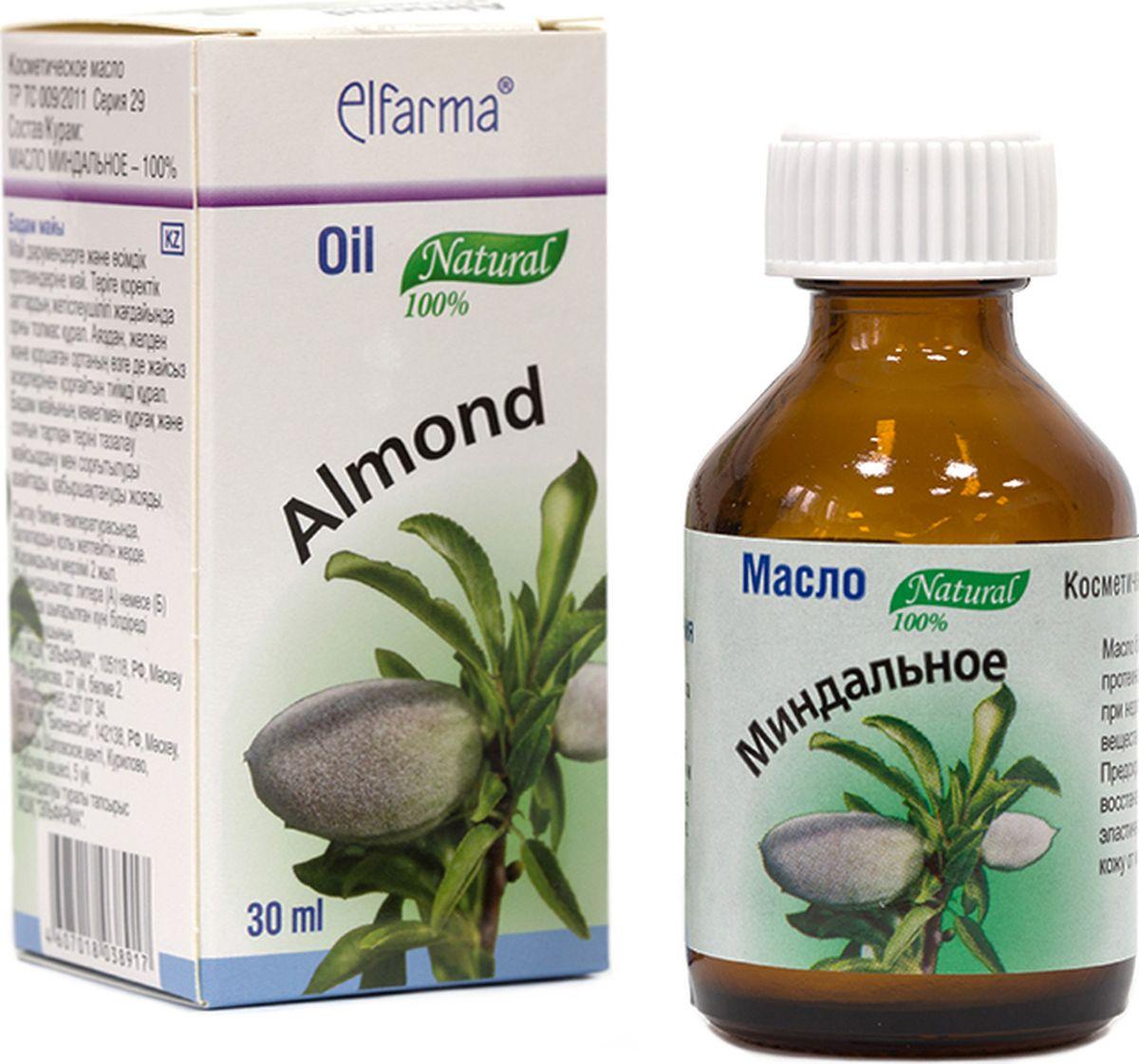 Elfarma Масло Миндальное, 30 мл4665301124914Масло богато витаминами и протеинами.